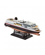 Подарочный набор со сборными моделями 125 лет Hurtigruten TROLLFJORD & MIDNATSOL Revell