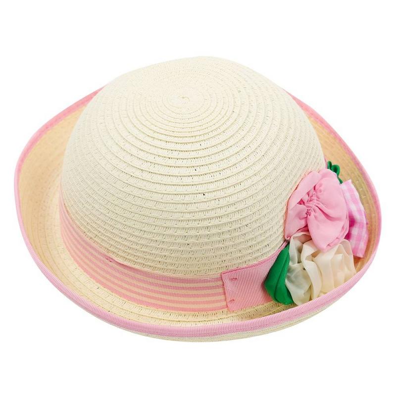 ШляпаШляпа розовогоцвета марки Mayoral для девочек.<br>Шляпа выгодно подчеркнутакрасивымицветами и бело-розовойвставкой. Она дополнит летний и легкий образ ребенка.<br><br>Цвет: Розовый<br>Размер шапки: 50<br>Пол: Для девочки<br>Артикул: 646718<br>Бренд: Испания<br>Страна производитель: Китай<br>Сезон: Весна/Лето<br>Состав: 100% Бумага<br>Размер: Без размера