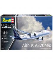 Сборная модель Airbus A320 Neo Lufthansa Revell