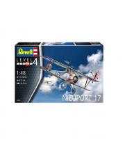 Сборная модель французский истребитель Nieuport 17 Revell