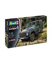 Сборная модель военного автомобиля Lkw gl leicht Wolf Revell