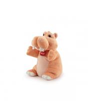 Мягкая игрушка на руку бегемотик 27 см Trudi