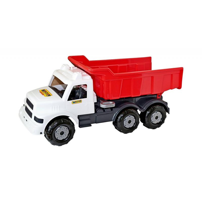 Самосвал Буран-3Самосвал Буран-3 марки Wader.<br>Большая яркая игрушка станет отличным подарком для ребенка.Мощный и прочный самосвал может возить песок, игрушки или любой другой груз, такой самосвал прочный и выдержит любую нагрузку.<br>Самосвал оснащен большими колесами, благодаря им ребенок с легкостью сможет катать эту машинку руками или же возить ее за собой на веревочке. Кузов у самосвала откидывающийся назад очень удобен, а для более интересной игрыв кабину машинки можно посадить небольшие фигурки.<br>Машинавыполнена из красочного и прочного пластика, ееможно брать с собой на улицу или играть с нейдома.<br>Размер упаковки: 73х29,5х32,5 см.<br>Размер игрушки: 73х29,5х32,5 см.<br>Вес: 2 кг.<br>Рекомендуется для детей от 2 лет.<br><br>Возраст от: 2 года<br>Пол: Для мальчика<br>Артикул: 650412<br>Бренд: Германия<br>Размер: от 2 лет
