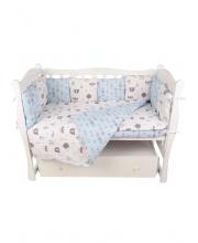 Комплект в кроватку 3 предмета Amarobaby