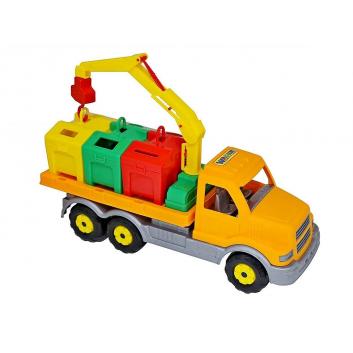 Игрушки, Сталкер-контейнеровоз Wader 650416, фото