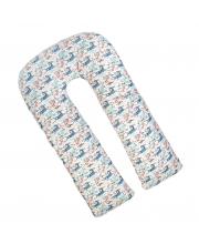 Наволочка к подушке для беременных U-образная 340х35 см Amarobaby