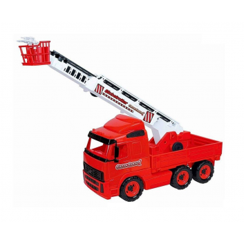 Игрушки, Пожарная машина с краном Wader 650425, фото