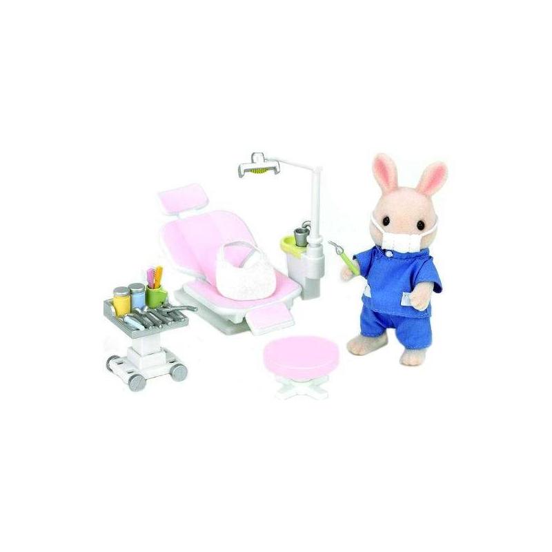 Sylvanian Families Набор Кролик-стоматолог sylvanian families набор мама кролик и холодильник