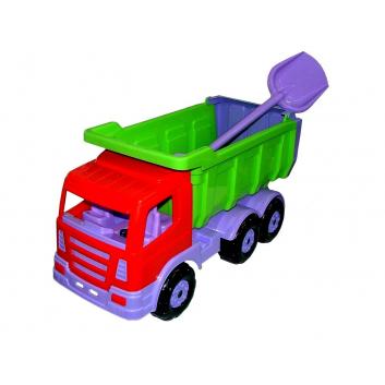 Игрушки, Самосвал Премиум с лопатой Wader 650432, фото