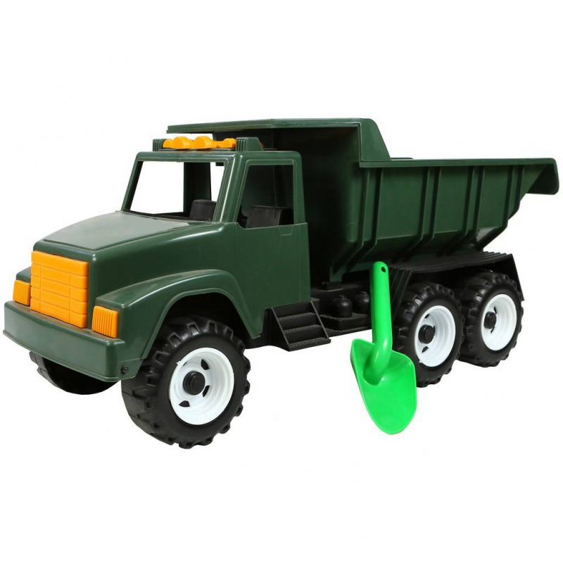 Военный автомобиль Интер BIGВоенный автомобиль Интер BIGзеленогоцвета марки RT.<br>Большая игрушка станет отличным подарком для ребенка. Машина оснащена большими и надежными колесами, которые обеспечат хорошую проходимость и выполнена в стиле военного автомобиля. В кузове ребенок сможет перевозить различный груз или любимые игрушки. А для более интересной игры в набор включена небольшая лопата.<br>Наборвыполнен из прочного пластика. Такуюмашинкуможно брать с собой на улицу или играть с ней дома.<br>Размер упаковки: 60x23x28см.<br>Размер игрушки: 60x23x28см.<br>Рекомендуется для детей от 2 лет.<br><br>Возраст от: 2 года<br>Пол: Для мальчика<br>Артикул: 650438<br>Бренд: Россия<br>Размер: от 2 лет
