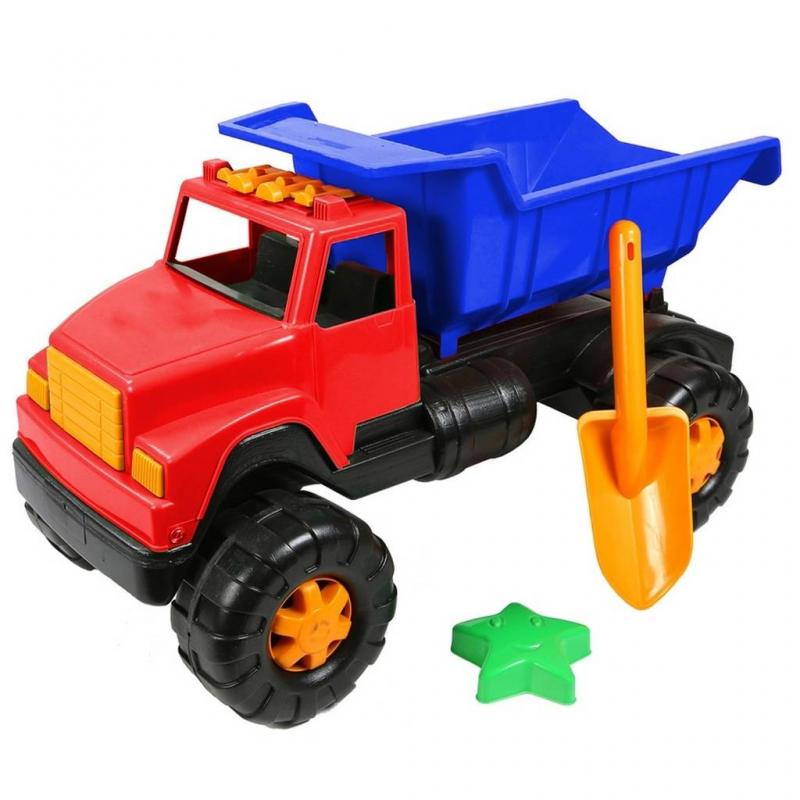 Автомобиль Интер BIGАвтомобиль Интер BIGкрасногоцвета марки RT.<br>Большая яркая игрушка станет отличным подарком для ребенка. Машина оснащена большими и надежными колесами, которые обеспечат хорошую проходимость. В кузове ребенок сможет перевозить различный груз или любимые игрушки. А для более интересной игры в набор включены небольшая лопата и формочка для песка в формезвезды.<br>Наборвыполнен из прочного пластика. Такуюмашинкуможно брать с собой на улицу или играть с ней дома.<br>Размер упаковки: 58х34х29см.<br>Размер игрушки: 58х34х29см.<br>Рекомендуется для детей от 2 лет.<br><br>Цвет: Красный<br>Возраст от: 2 года<br>Пол: Для мальчика<br>Артикул: 650440<br>Бренд: Россия<br>Размер: от 2 лет
