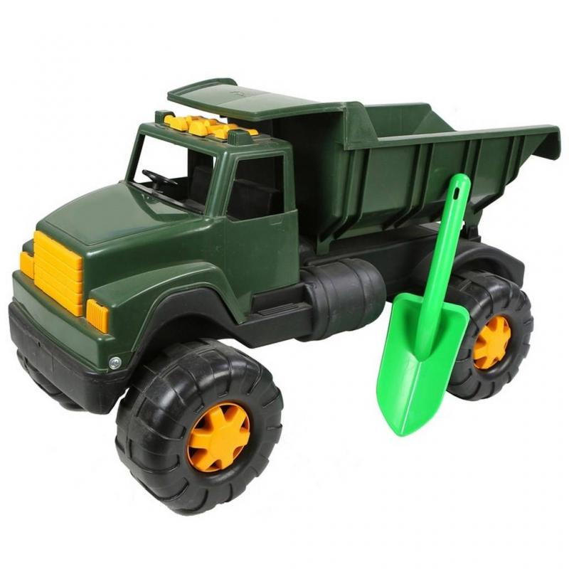 RT Военный автомобиль Интер BIG автомобиль rt ор184 интер big цветной лопата и пасочка синий с зеленым