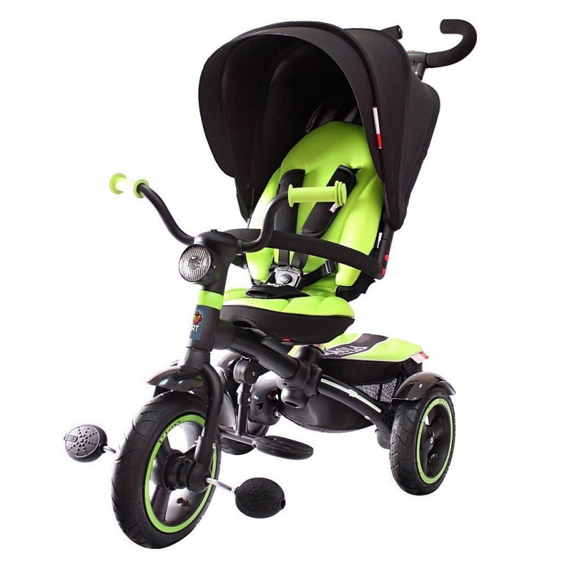 Велосипед-коляска RT 5 VIP V5 Prigaro green