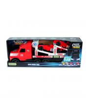 Автовоз Magic Truck и 2 гоночные машинки Wader
