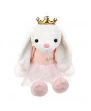 Мягкая игрушка Зайка Принцесса 45 см Fluffy Family