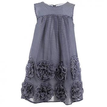 Девочки, Платье MAYORAL (темносиний)646111, фото