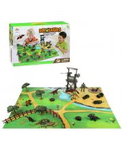 Игровой набор Солдаты vs Динозавры Наша Игрушка
