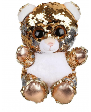 Игрушка из пайеток Мишка 15 см Fluffy Family