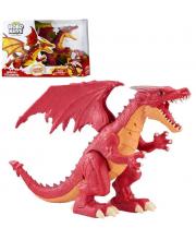 Интерактивная игрушка Робо-Дракон Пламень ZURU