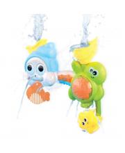 Игрушка-лейка для купания Черепашка и улитка Жирафики