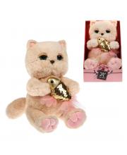 Мягкая игрушка Киска Персик Angel Collection