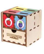 Комодик-куб Фрукты Woodland