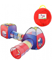 Комплекс игровой палатки с туннелями Наша Игрушка