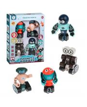 Конструктор магнитный Роботы Наша Игрушка