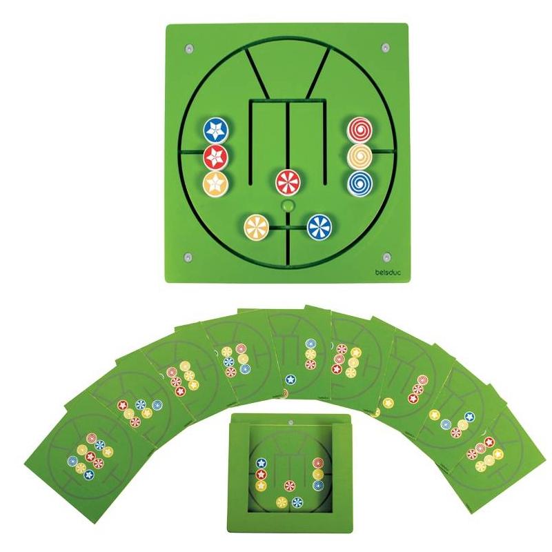 Настенный игровой элемент Три в ряд