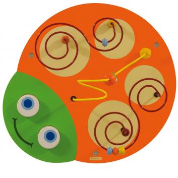 Игрушки, Настенный игровой элемент Гусеница Голова Beleduc 657051, фото