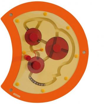 Игрушки, Настенный игровой элемент Гусеница Лабиринт Beleduc 657052, фото