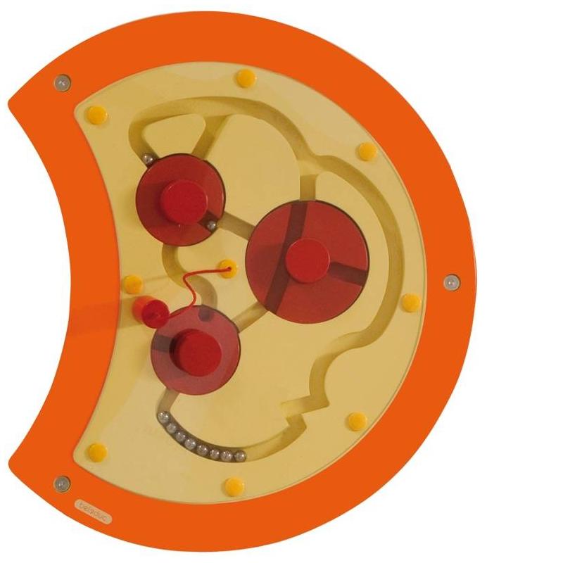 Настенный игровой элемент Гусеница Лабиринт
