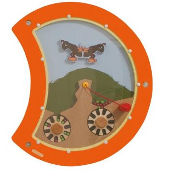 Игрушки, Настенный игровой элемент Гусеница Баланс Beleduc 657053, фото