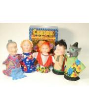 Кукольный театр Красная шапочка Русский стиль