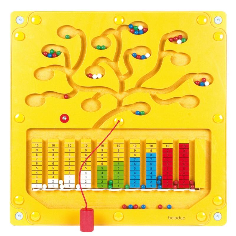 Настенный игровой элемент Числовое дерево
