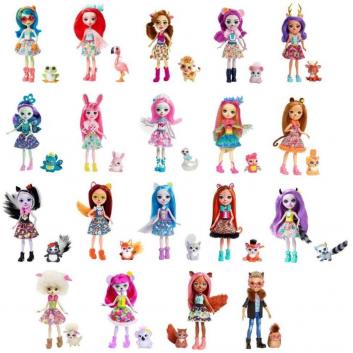 Игрушки, Кукла Enchantimals в ассортименте Mattel , фото