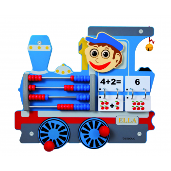 Игрушки, Настенный игровой элемент Локомотив Beleduc 657057, фото