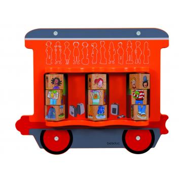 Игрушки, Настенный игровой элемент Дети Beleduc 657058, фото