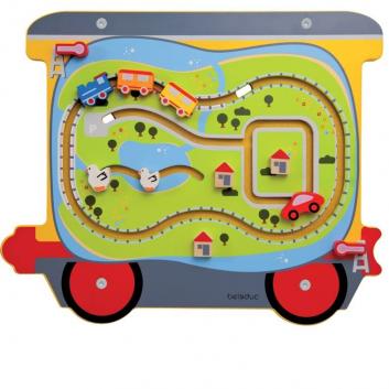 Игрушки, Настенный игровой элемент Путешествие Beleduc 657060, фото