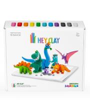 Легкий пластилин Залипаки Динозавры Hey Clay