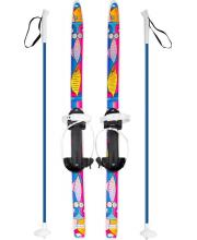 Лыжи Быстрики Коты 90-90 см Олимпик