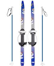 Лыжи Быстрики Пингвины 90-90 см Олимпик