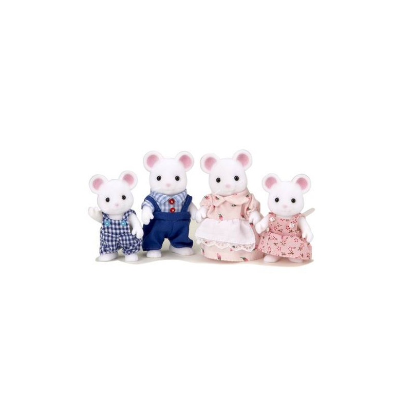 Sylvanian Families Набор Семья Белых Мышей ультразвук от мышей в екатеринбурге купить