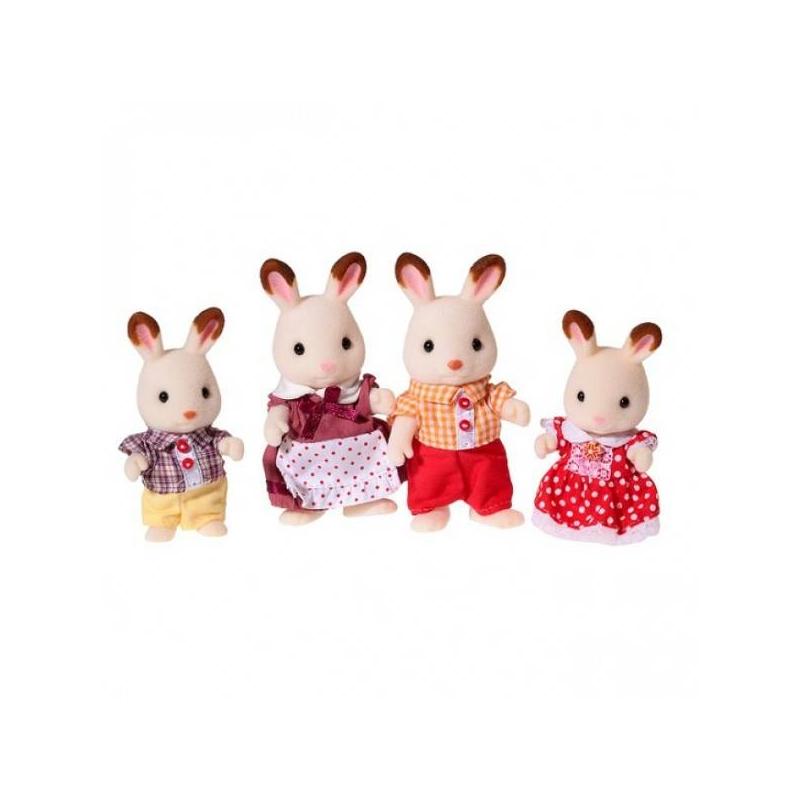 Sylvanian Families Набор Семья Шоколадных Кроликов