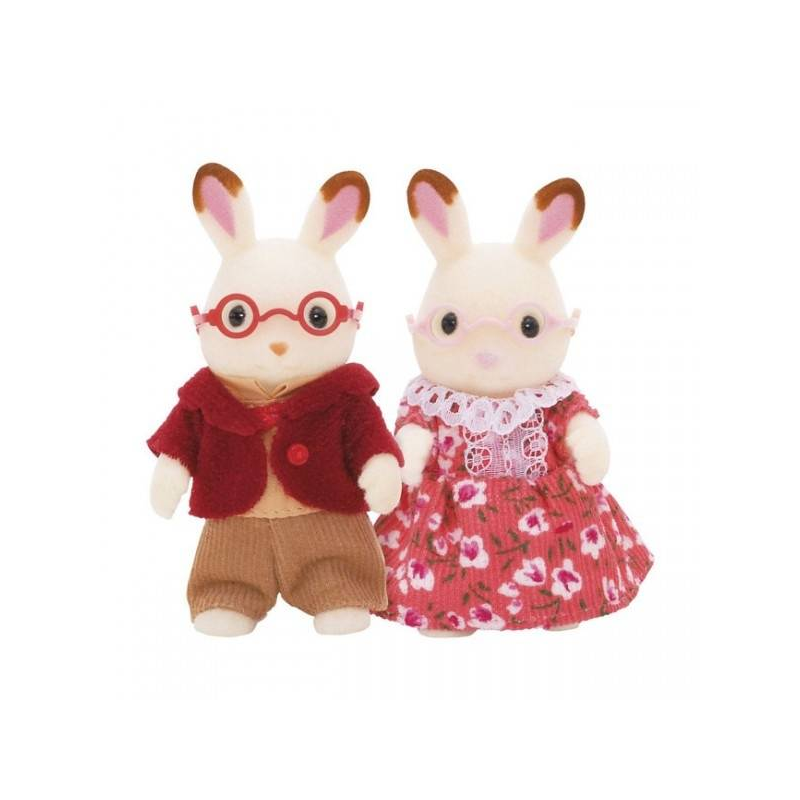 Набор Бабушка и дедушка Шоколадные Кролики