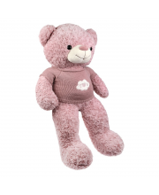 Мягкая игрушка Мишка Цветочек 60 см Fluffy Family