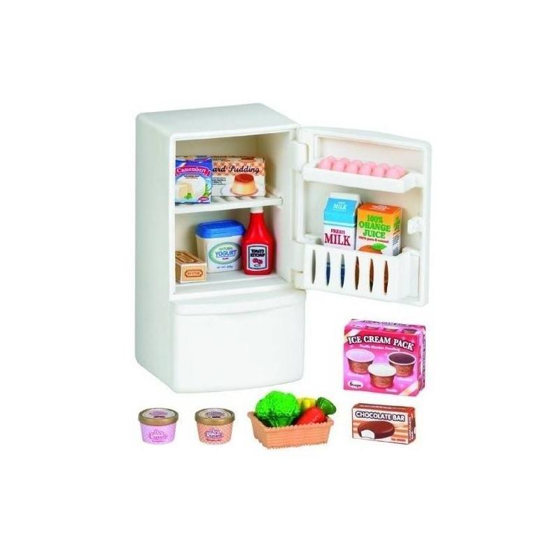 Sylvanian Families Набор Холодильник с продуктами sylvanian families набор холодильник с продуктами новый