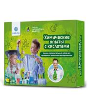 Набор для опытов химический с кислотами Intellectico