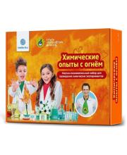 Набор для опытов химический с огнем Intellectico