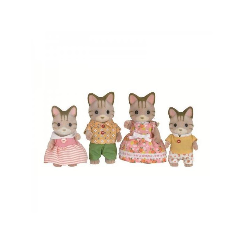 Набор Семья Полосатых Кошек